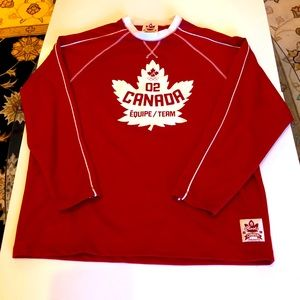 Roots Men's Medium Canada 2002 Olympics Jersey